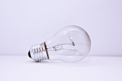 Gratis lagerfoto af elpære, glas element