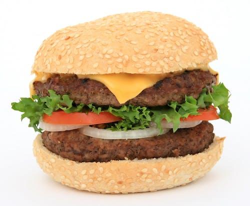 Základová fotografie zdarma na téma burger, hamburger, jídlo, rajčata