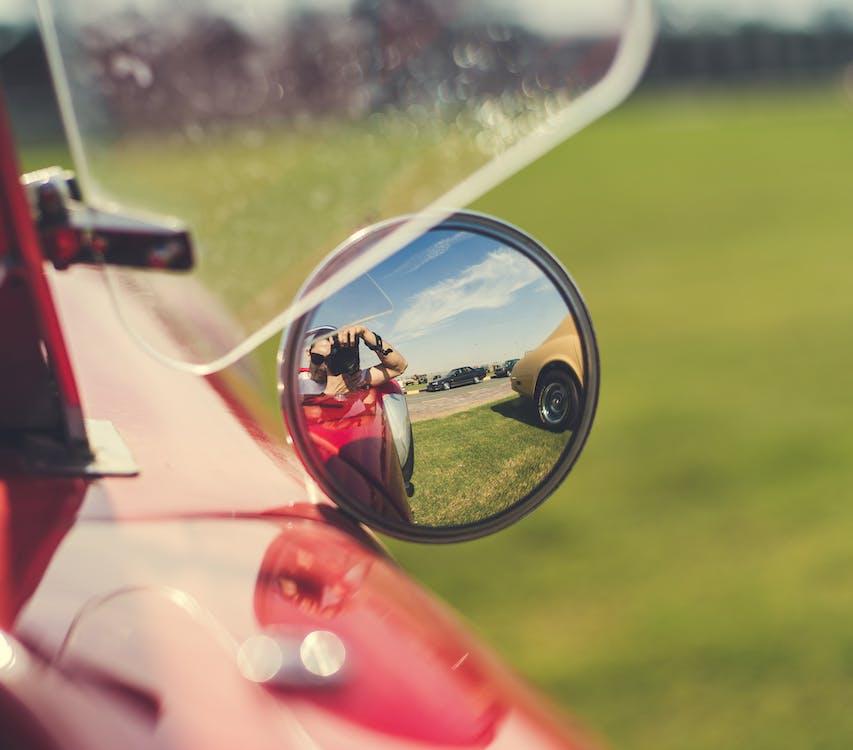 автомобиль, боковое зеркало, водить