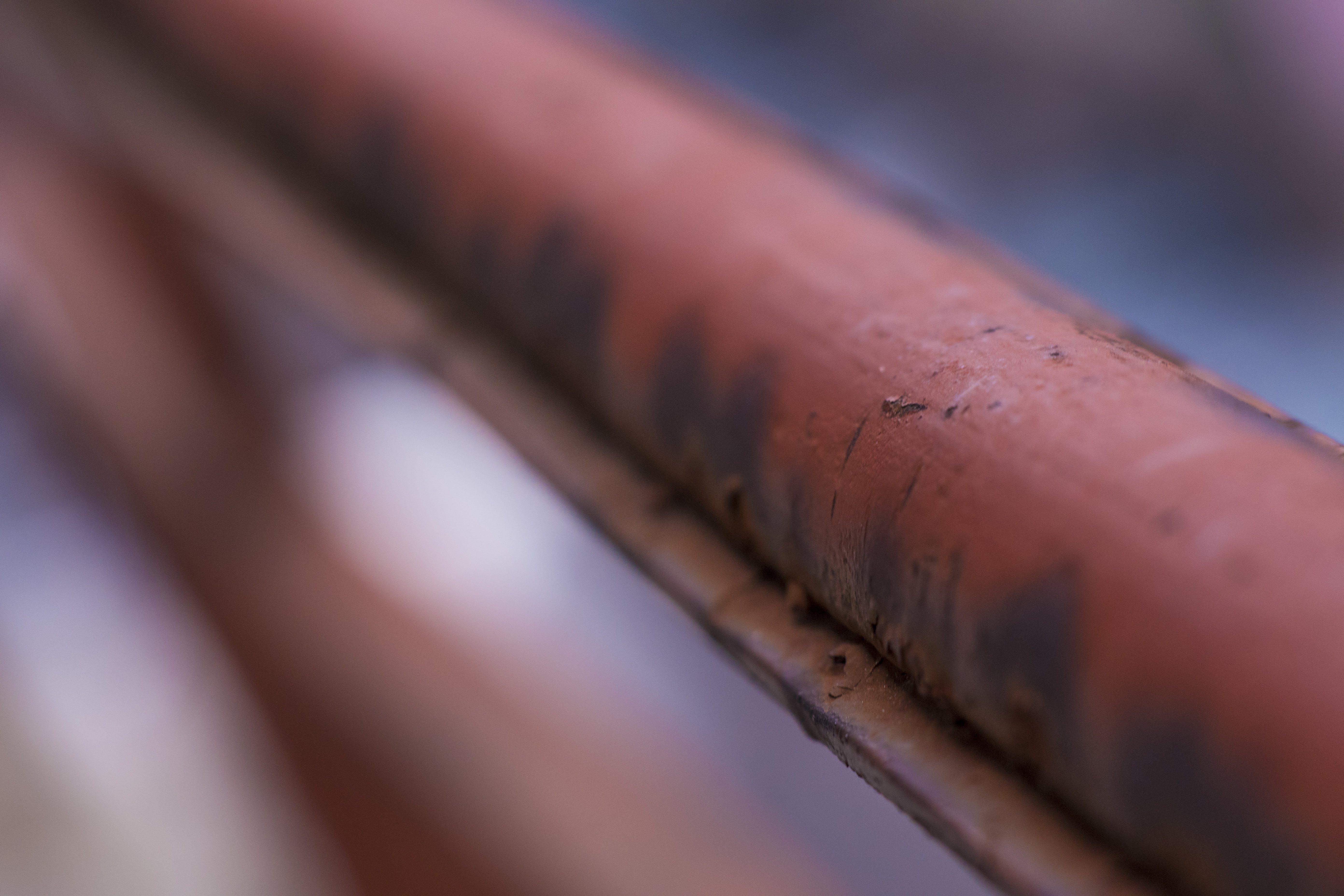 Gratis lagerfoto af fokus, luftslør, rust, stang