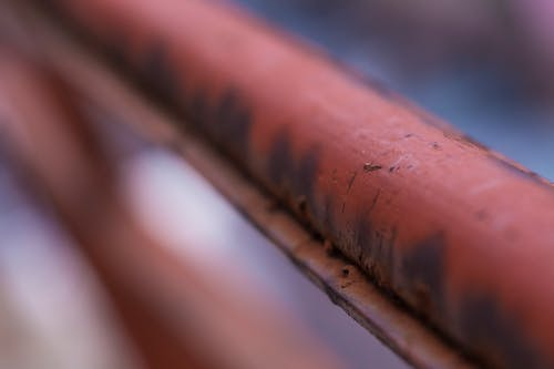 Free stock photo of blur, focus, pole, rust