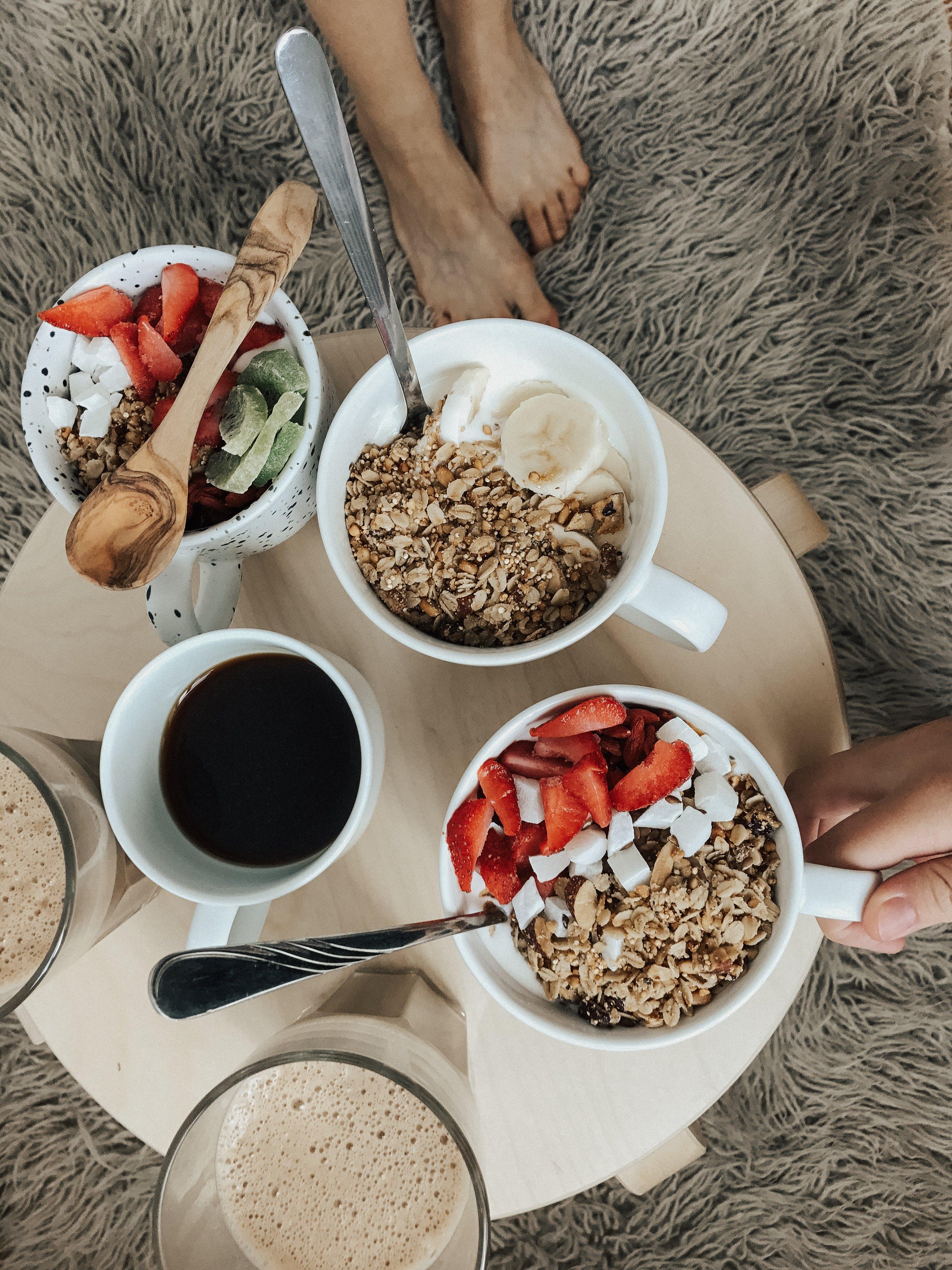 Flatlay Photography Of Food