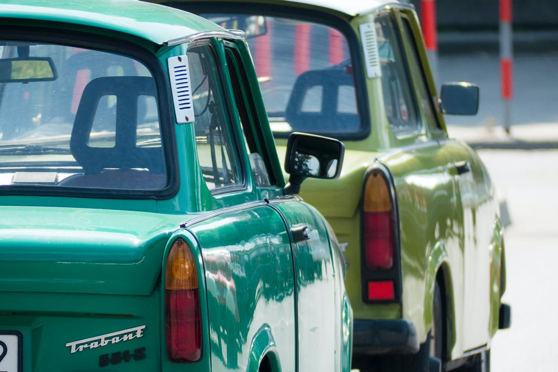 Green Classic Vehicles