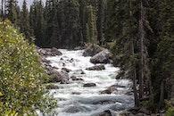 landscape, water, rocks