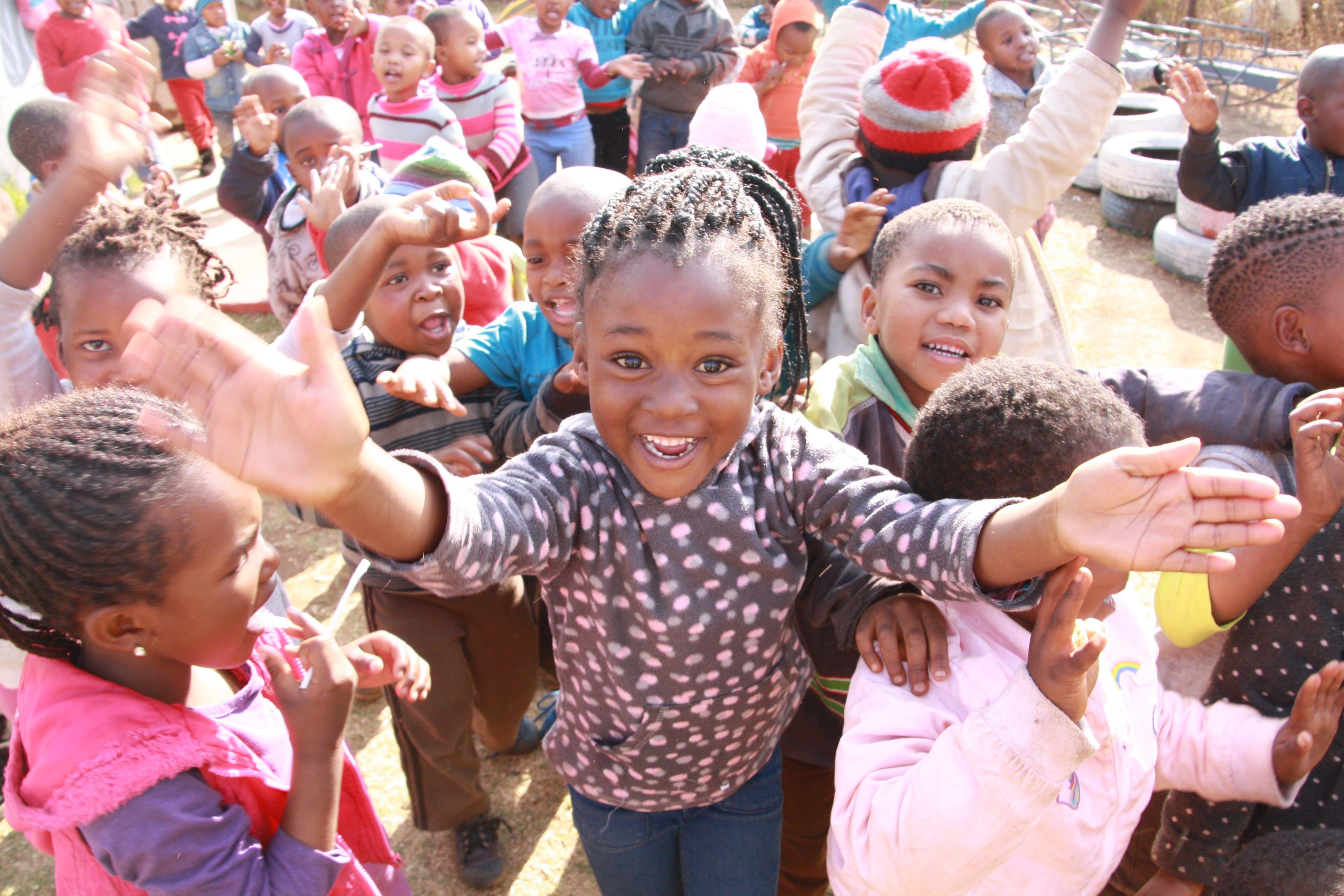Free stock photo of africa, black child, children, daycare