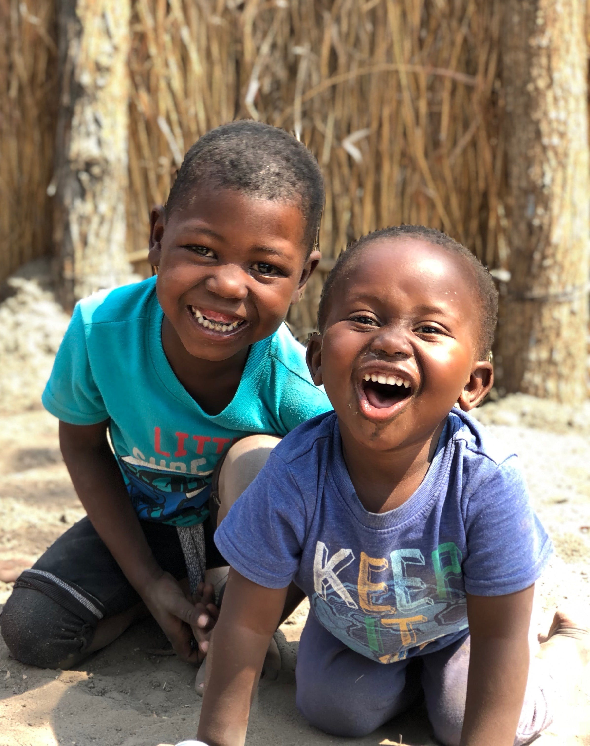 Free stock photo of africa, black child, boys, children