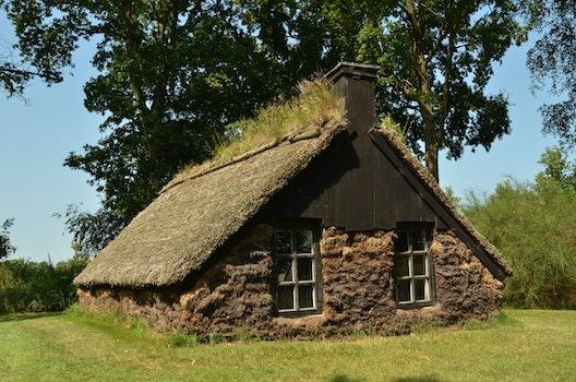 Free stock photo of hut, history, poverty, sod