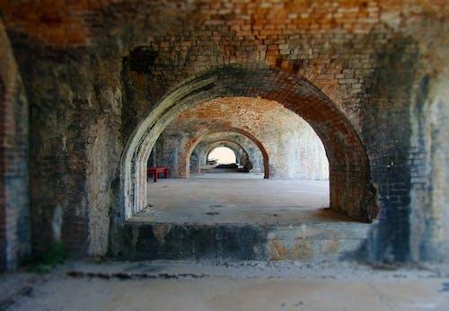 Kostnadsfri bild av arkitektur, byggnad, tegelstenar, tegelväggar