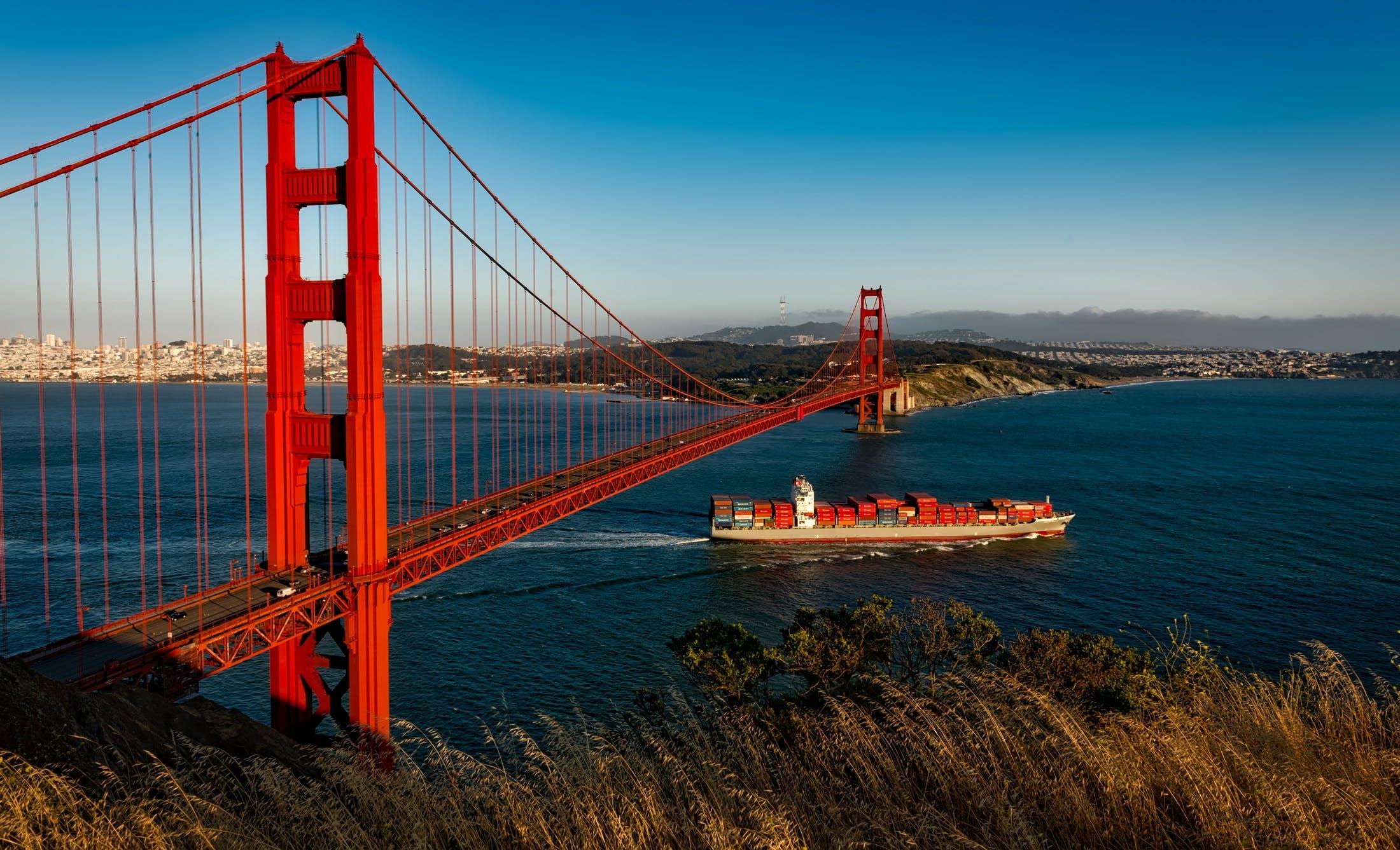 Gratis lagerfoto af arkitektur, båd, berømt, bro