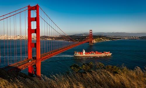 Darmowe zdjęcie z galerii z architektura, barka, golden gate bridge, historyczny