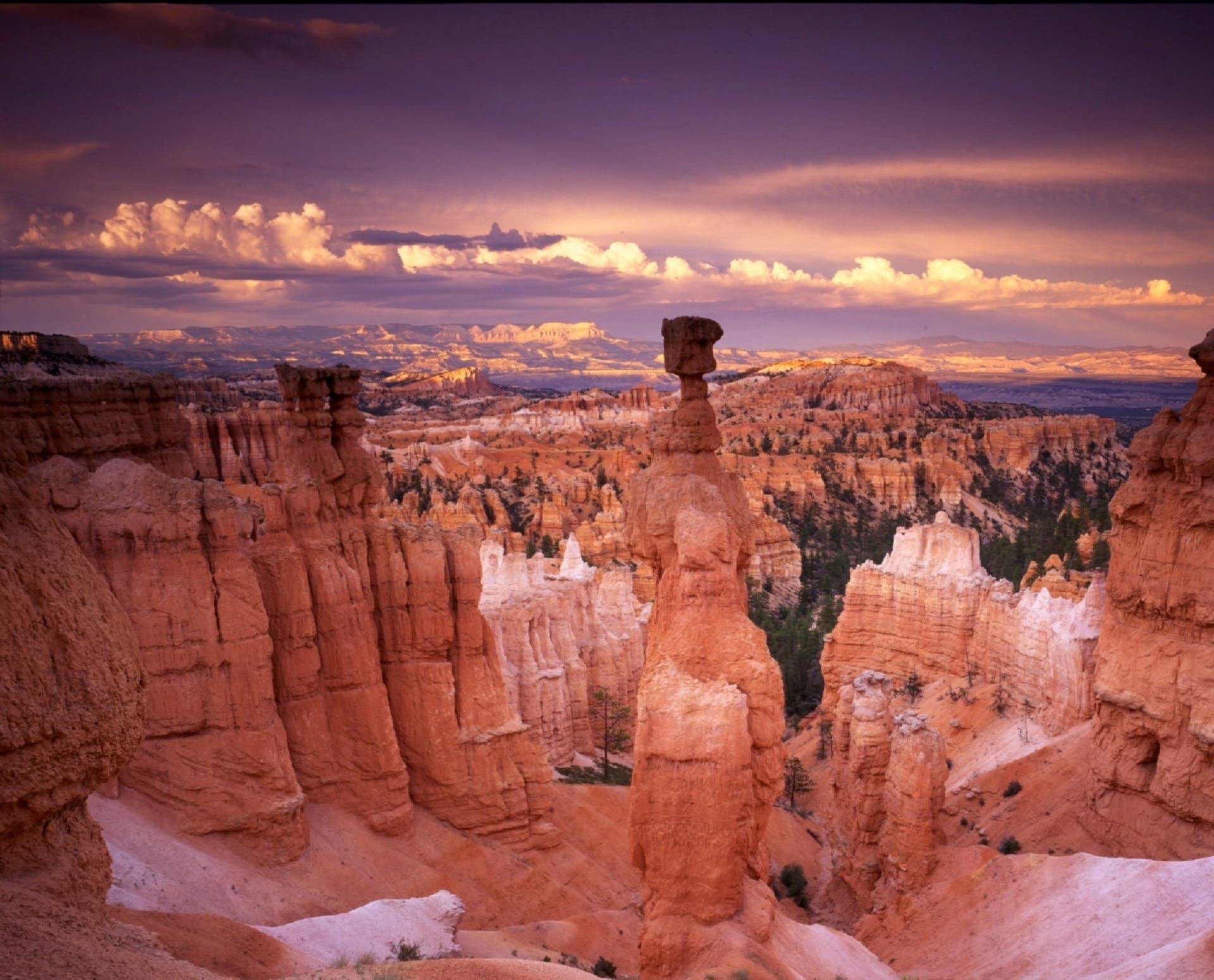 Kostenloses Stock Foto zu dämmerung, landschaft, sonnenuntergang, rot