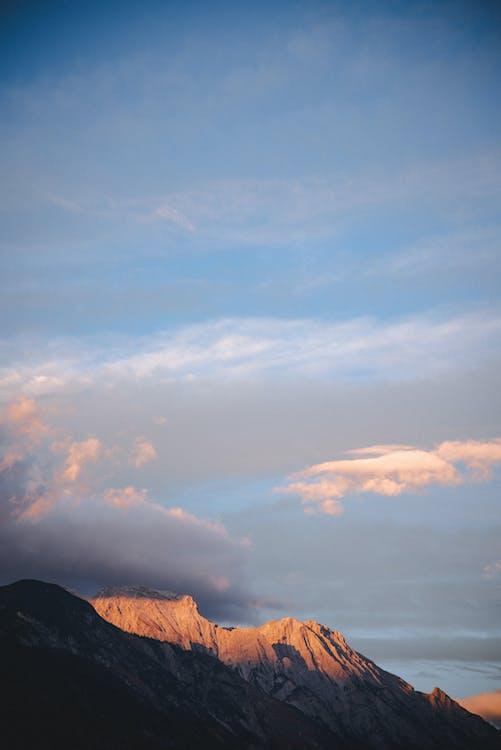 Áustria, cênico, luz do dia