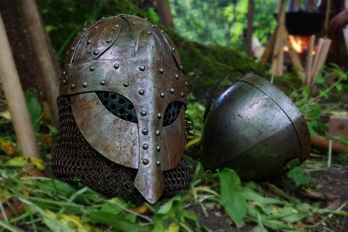 Imagine de stoc gratuită din de metal, iarbă, mască, metal