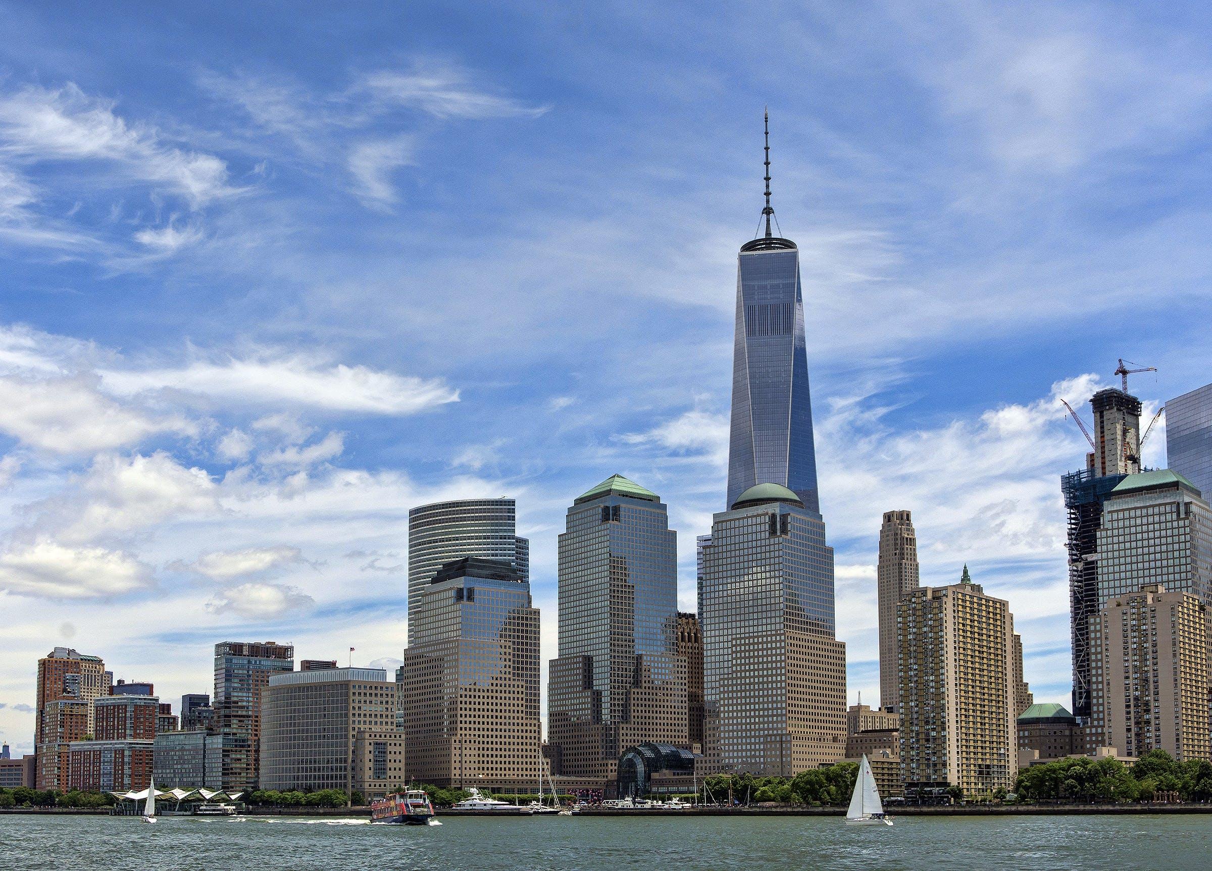Ingyenes stockfotó építészet, épületek, felhőkarcolók, láthatár témában