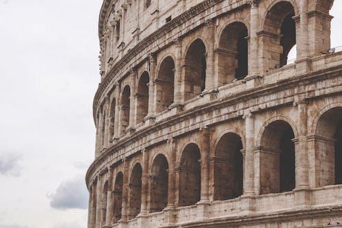 Imagine de stoc gratuită din amfiteatru, arhitectura romana veche, Coliseum, Colosseum