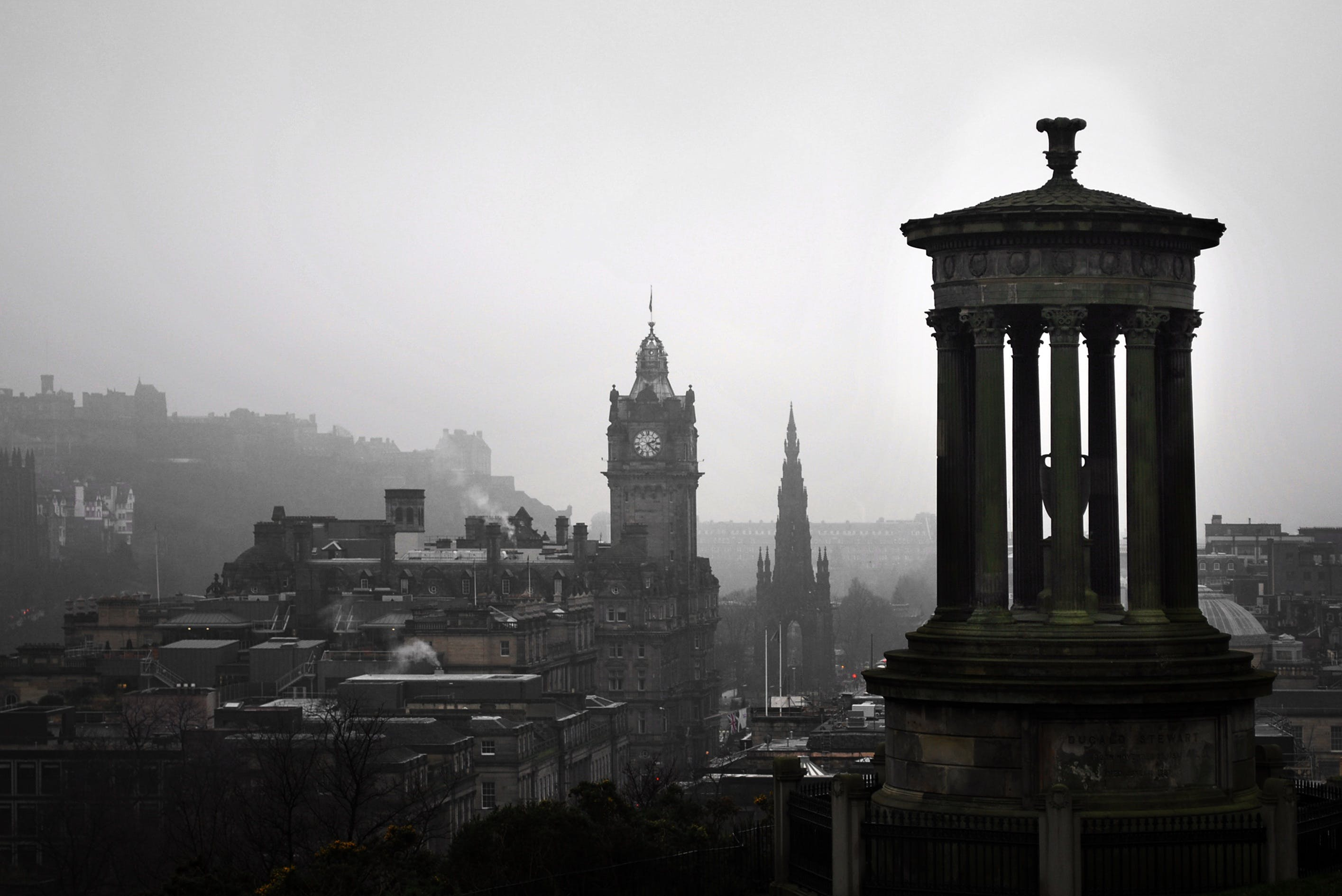 Základová fotografie zdarma na téma architektura, Británie, budovy, carlton hill