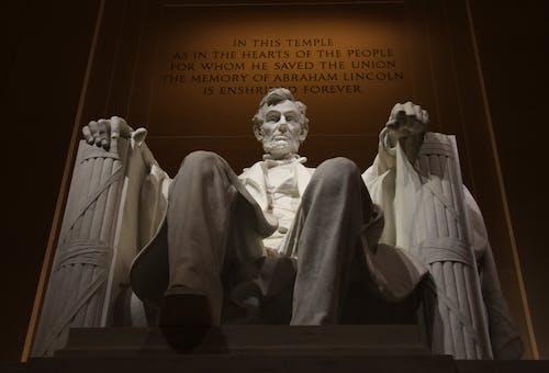 Ingyenes stockfotó Abraham Lincoln, adminisztráció, alacsony szögű felvétel témában
