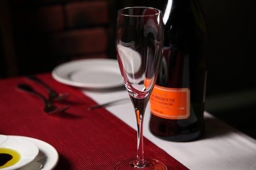 Imagine de stoc gratuită din alcool, aranjarea mesei, bifurcație, cristal