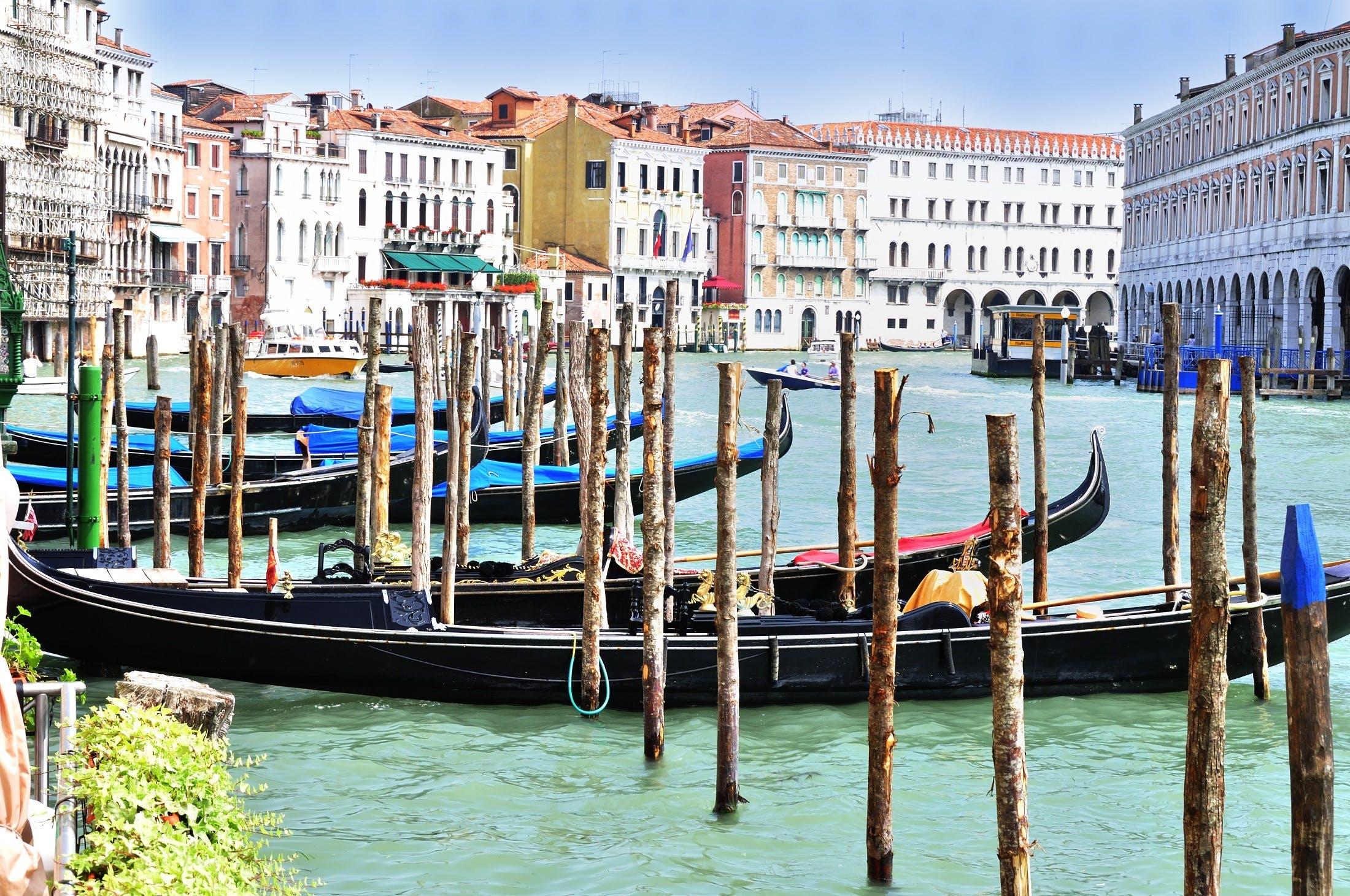 イタリア, ウォータークラフト, ドック, ベネチアの無料の写真素材