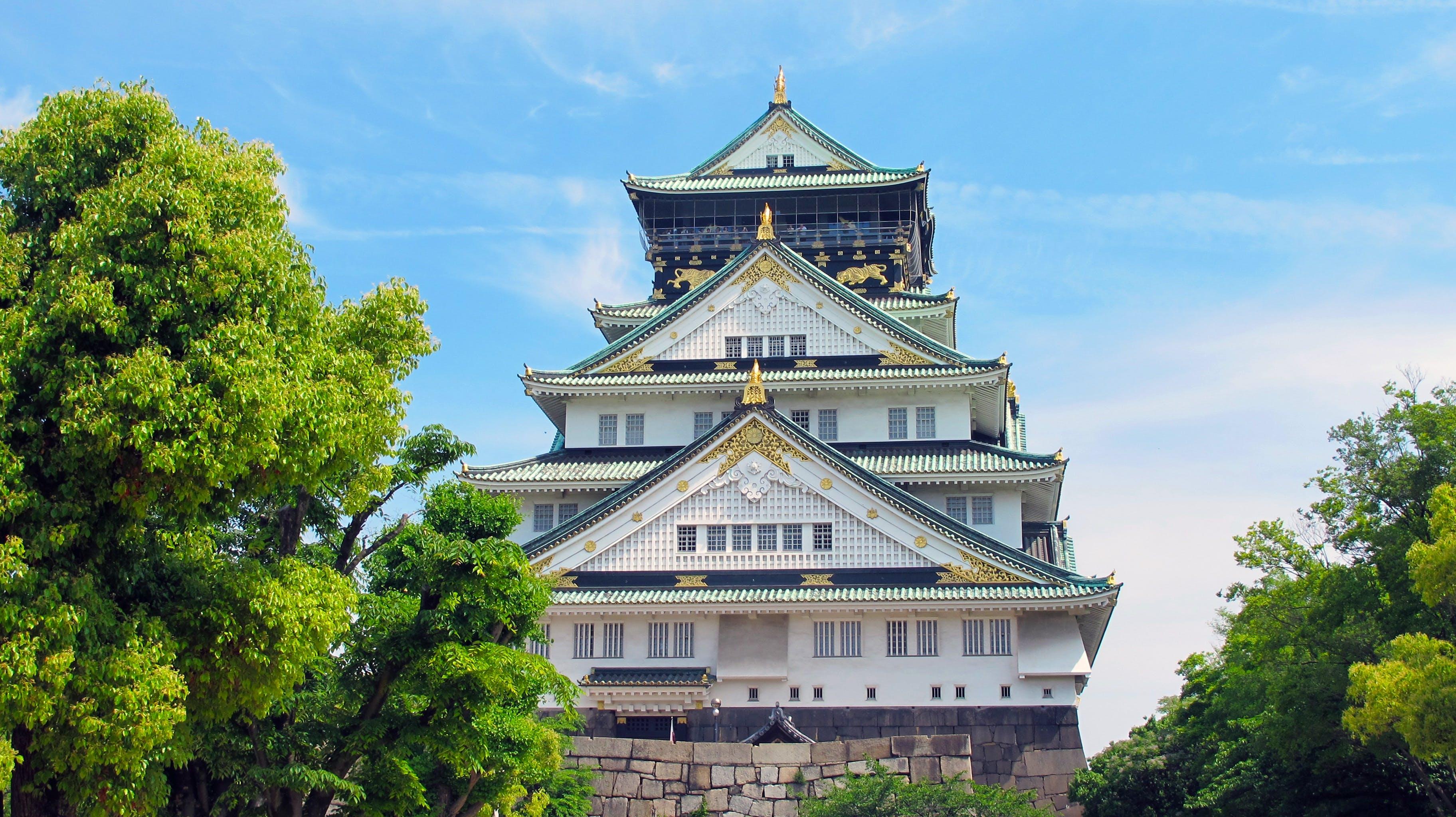 Fotobanka sbezplatnými fotkami na tému ázijská architektúra, azuchi-momoyama obdobie, budova, cestovný ruch