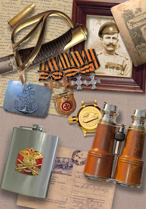 Foto stok gratis antik, ingatan, kehidupan tenang, militer
