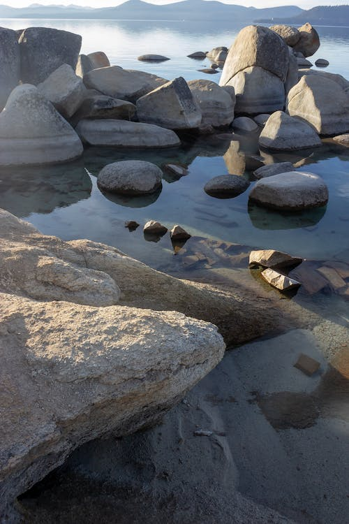 Free stock photo of horizon, peaceful, rocks, serene