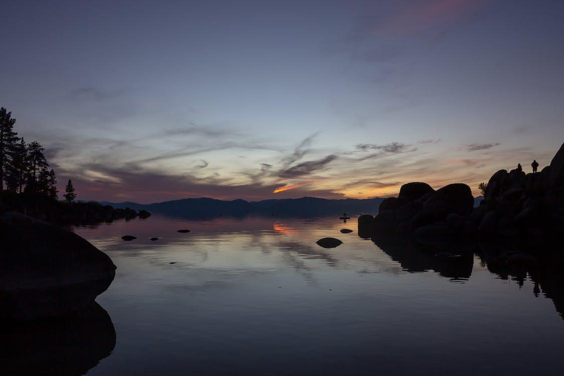 Kostnadsfri bild av gryning, himmel, reflektion