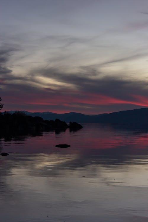Photos gratuites de aube, ciel, coucher de soleil, eau