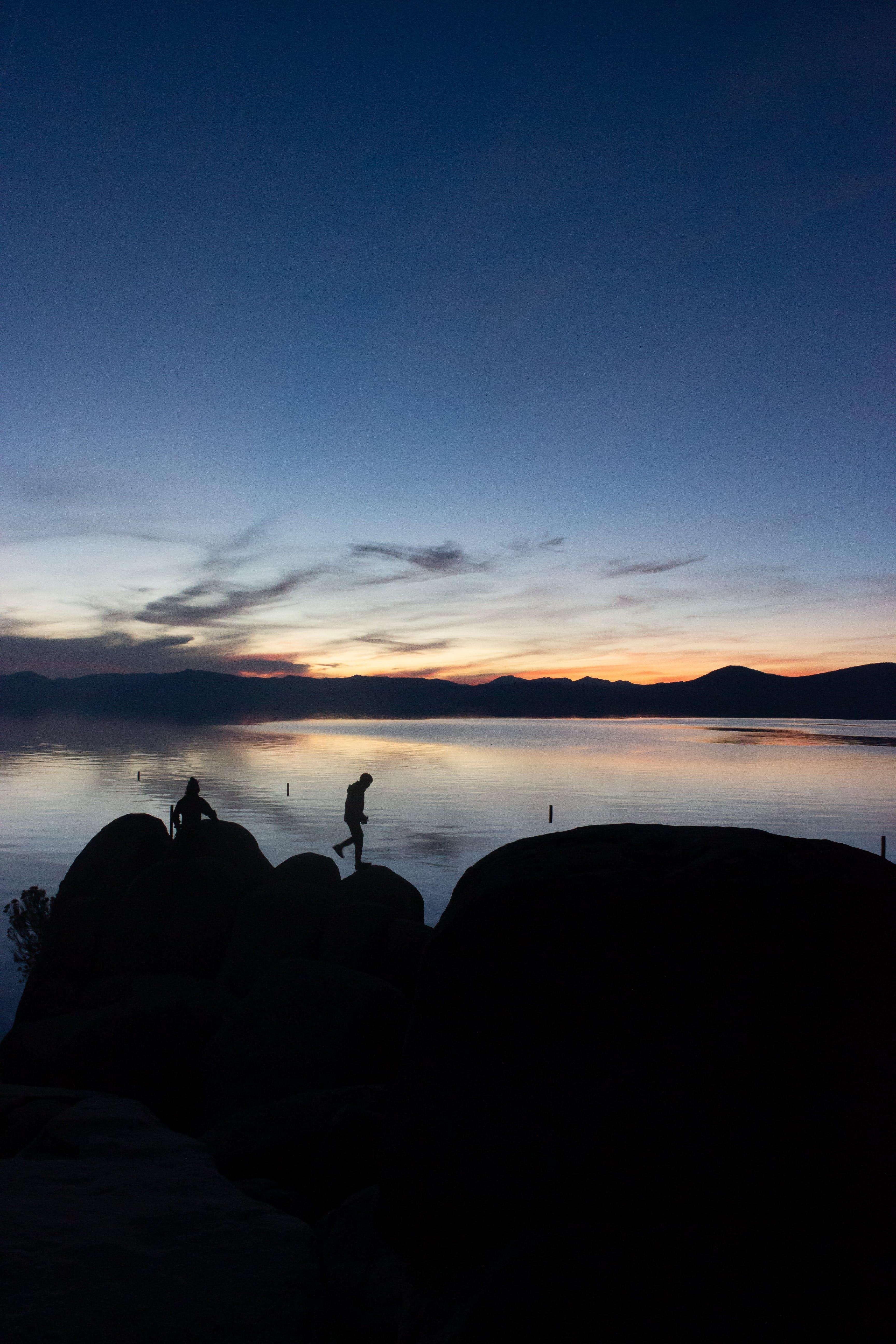 Základová fotografie zdarma na téma hory, lidé, malebný, obloha