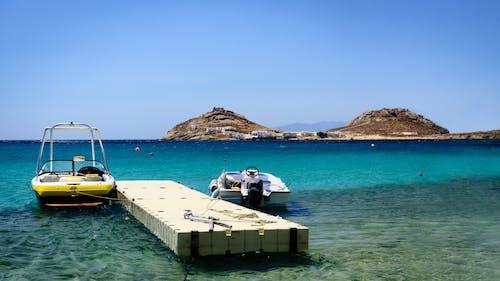 Photos gratuites de baie, bateau, bleu, bord de mer