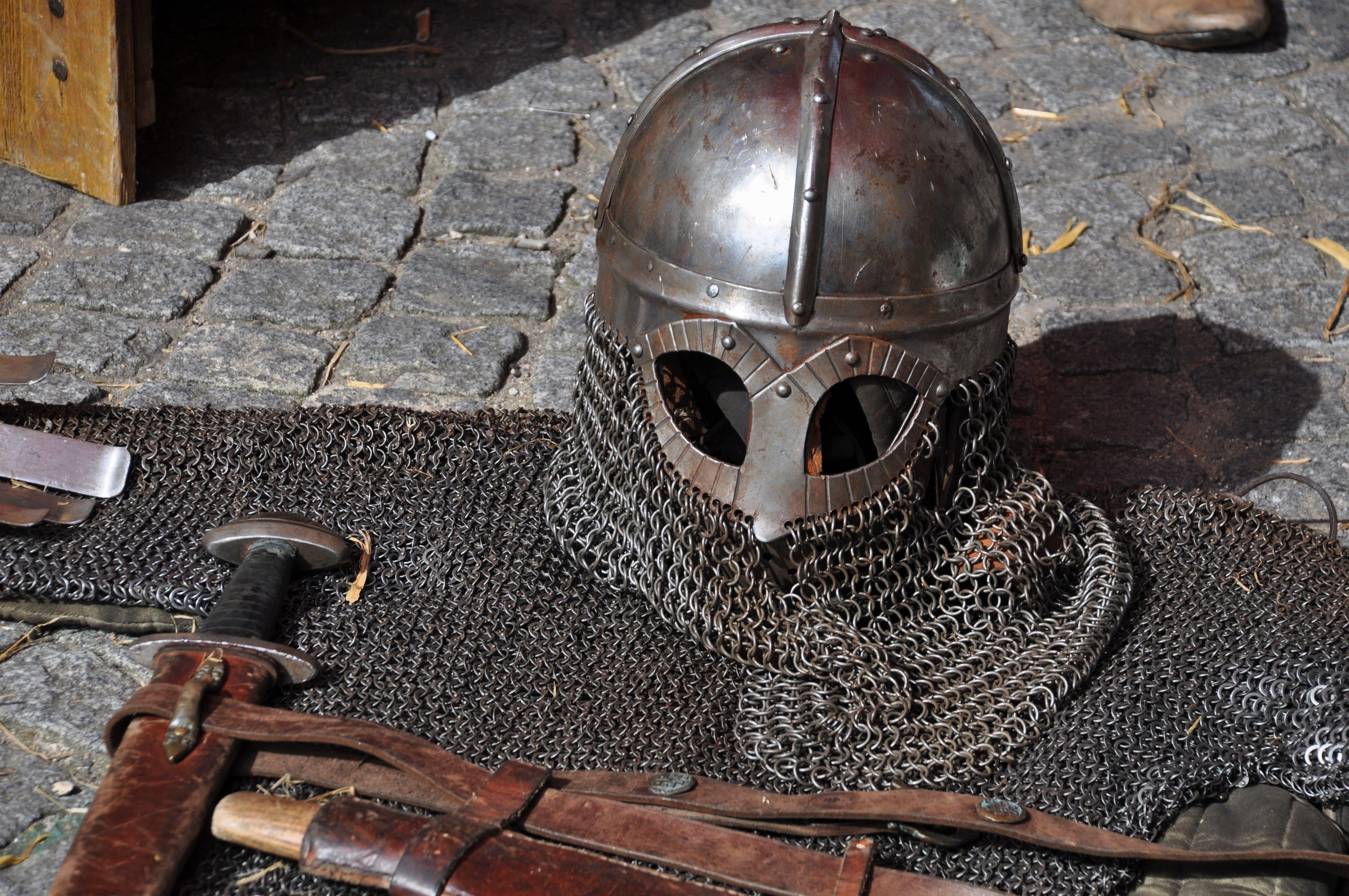 Free stock photo of france, festival, helmet, medieval