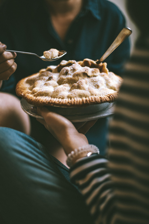 Gıda, hamur işi, lezzetli, pay içeren Ücretsiz stok fotoğraf