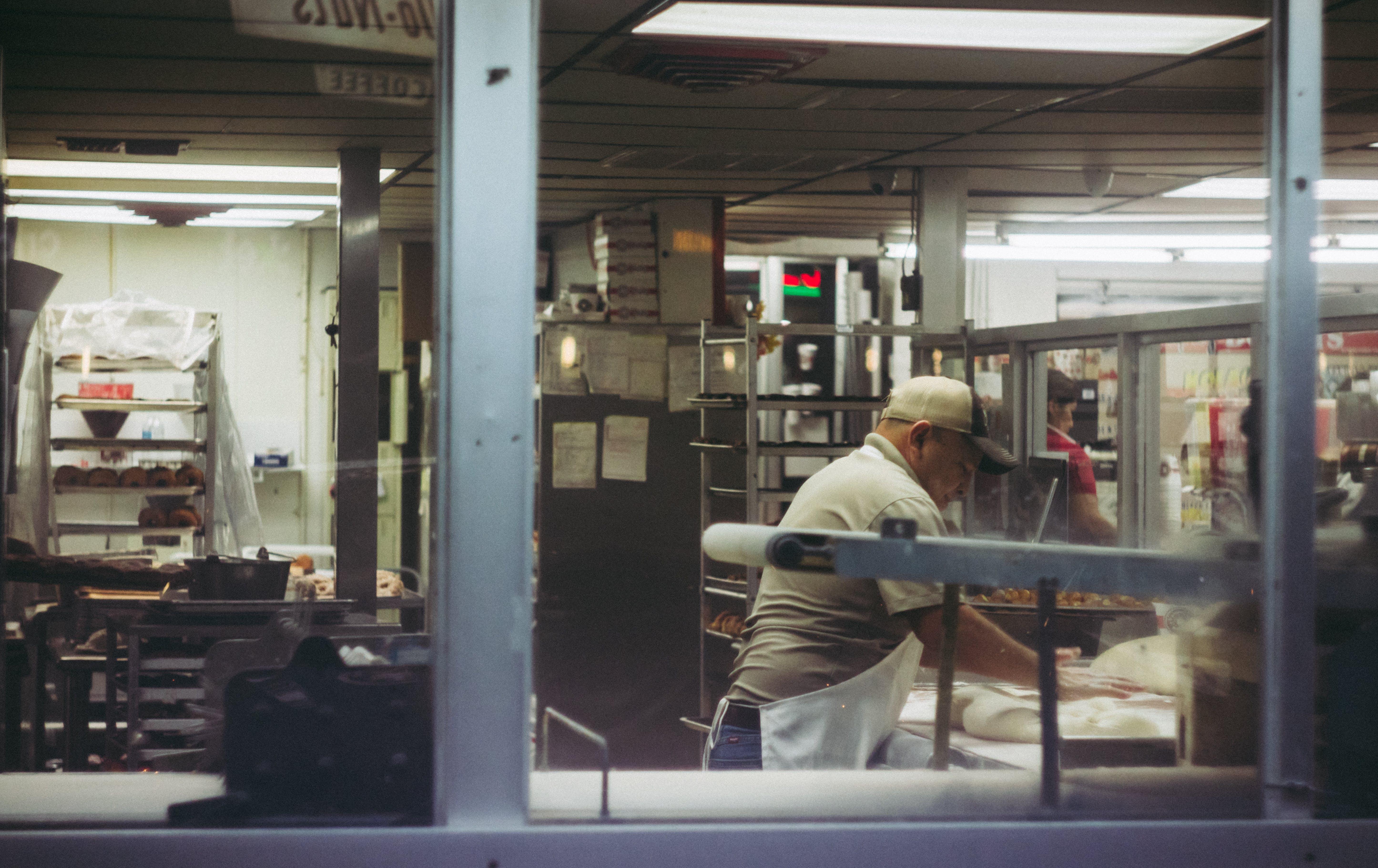 おとこ, アダルト, インドア, エプロンの無料の写真素材