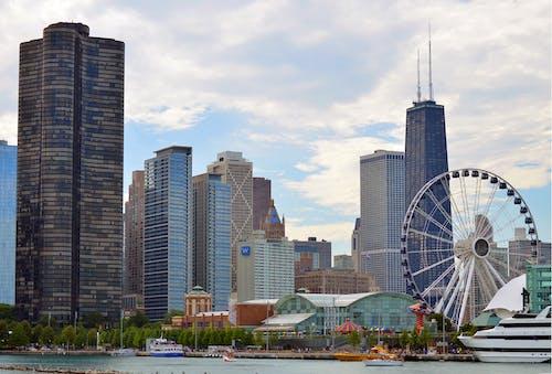 Ilmainen kuvapankkikuva tunnisteilla Amerikka, arkkitehtuuri, chicago, hancock-torni