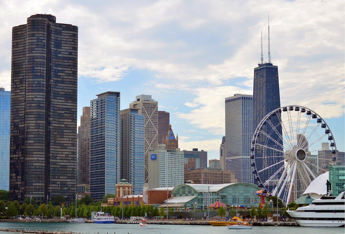 Amerika, belváros, Chicago
