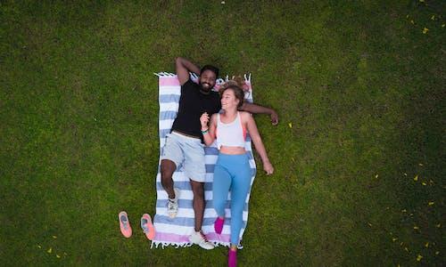 경치, 공원, 남자, 누워 있는의 무료 스톡 사진