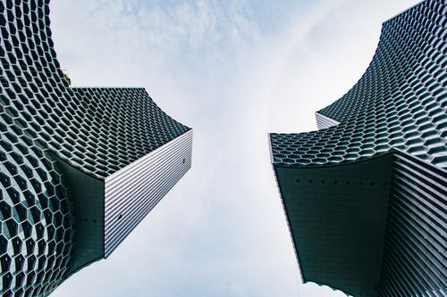 Ingyenes stockfotó alacsony szögű felvétel, design, építészet, épületek témában