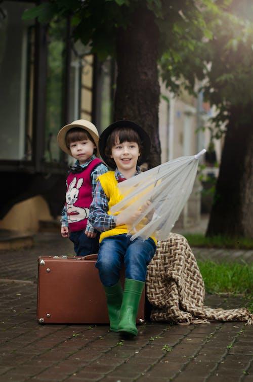 可愛, 可愛的, 孩子, 年輕 的 免費圖庫相片