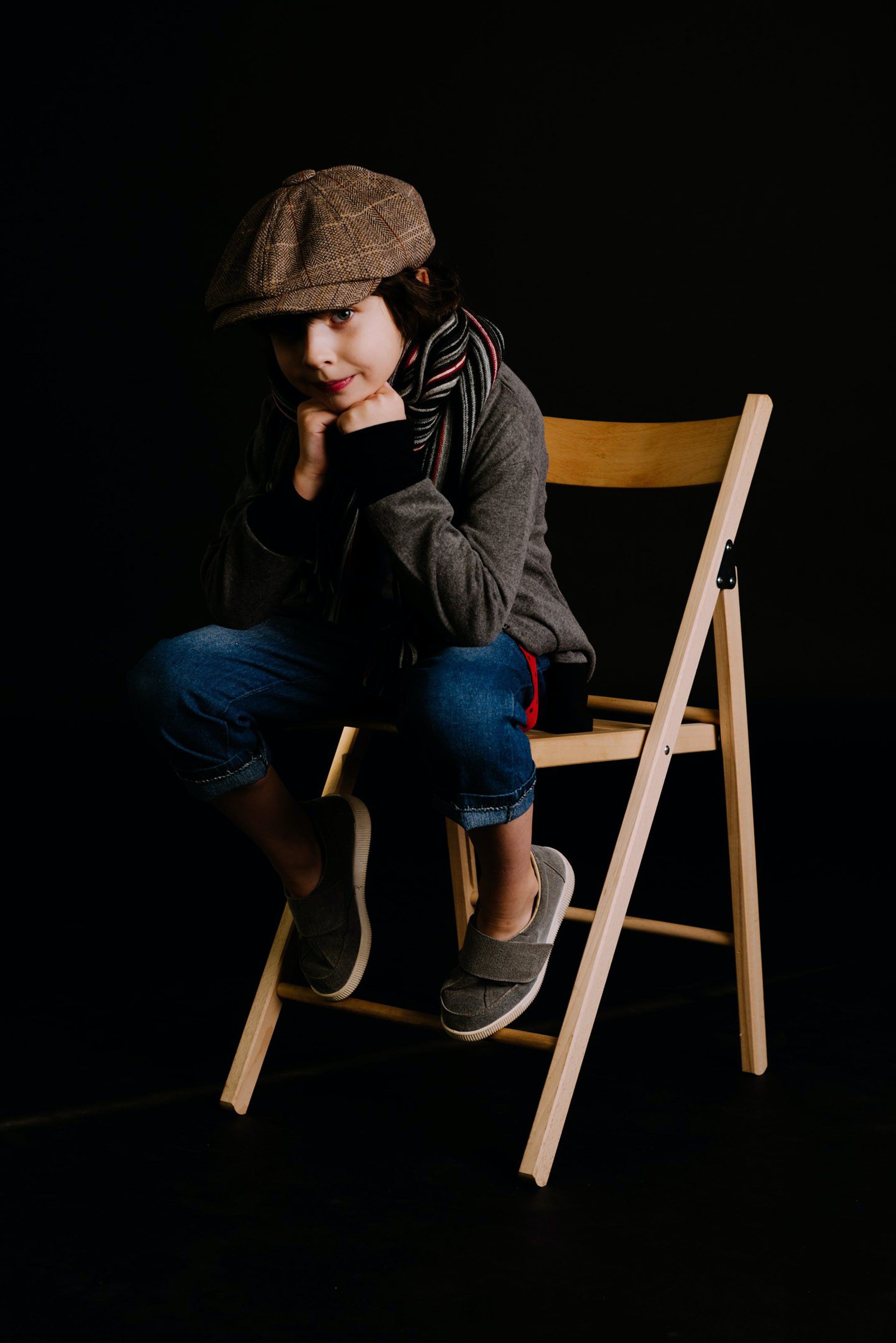 Photo of Kid Posing For Camera