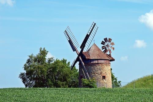 Безкоштовне стокове фото на тему «архітектура, башта вітряк, вітер, Вітряк»