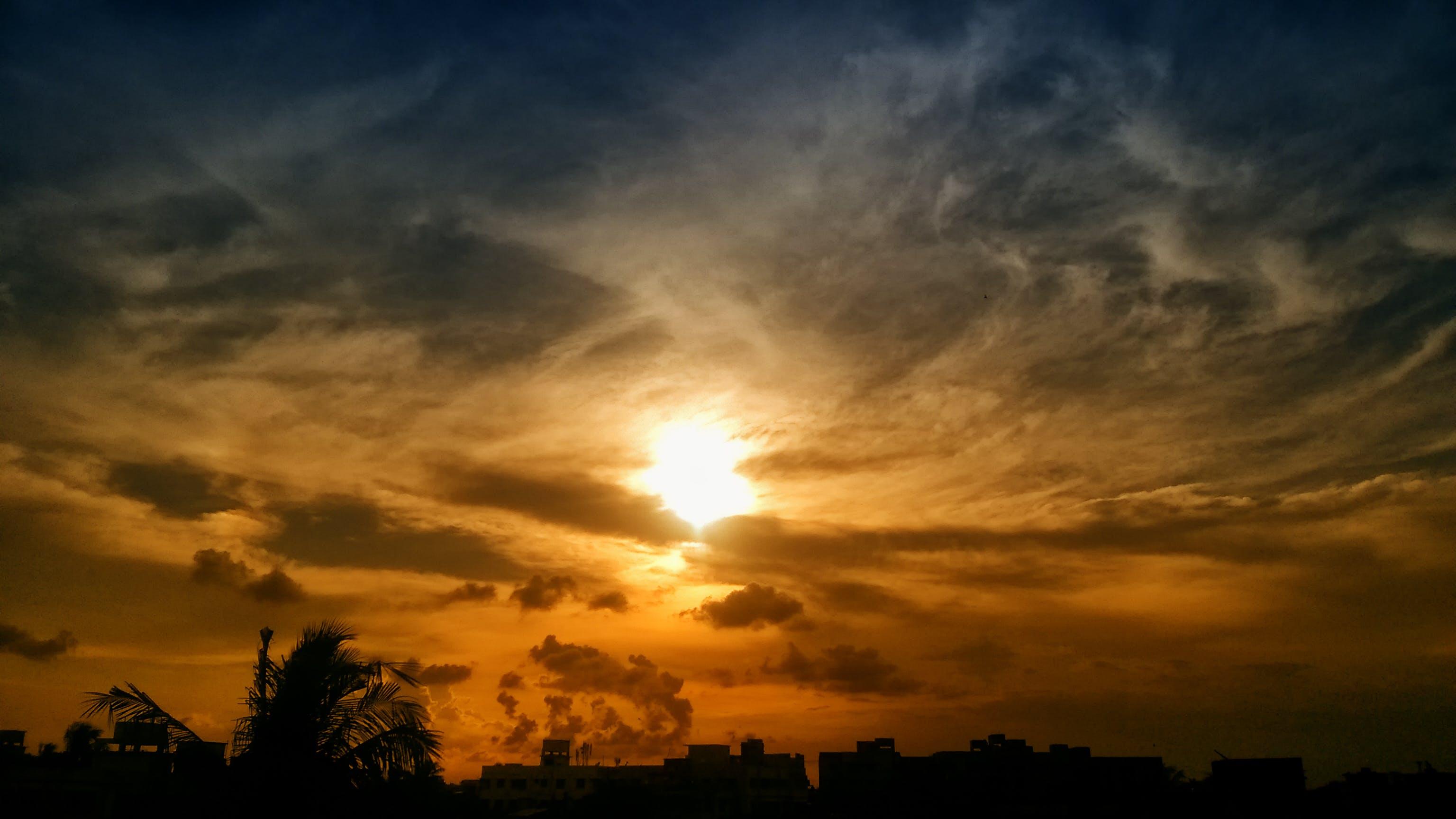 Kostenloses Stock Foto zu dämmerung, himmel, sonne, sonnenaufgang