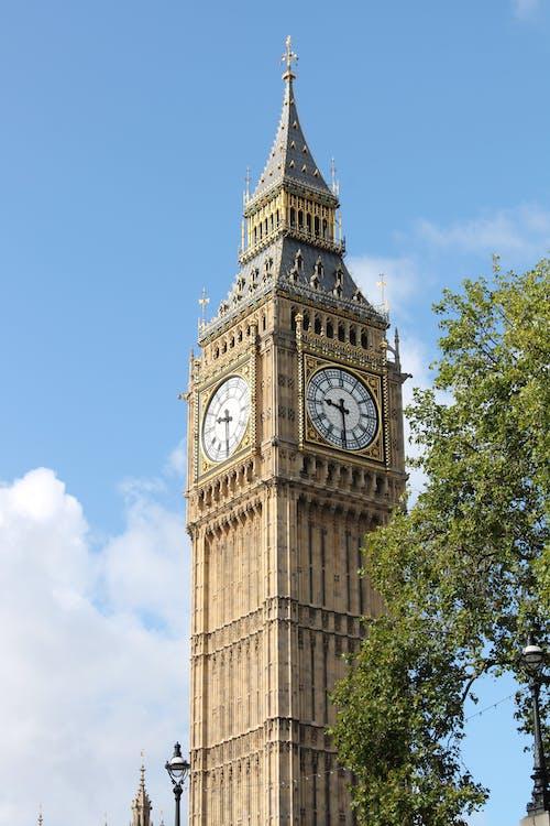 倫敦, 倫敦大笨鐘, 地標, 城市 的 免費圖庫相片