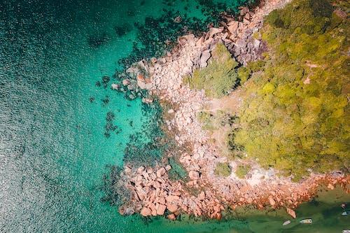 シースケープ, 上から, 岩, 海の無料の写真素材