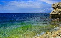 sea, sky, sunny