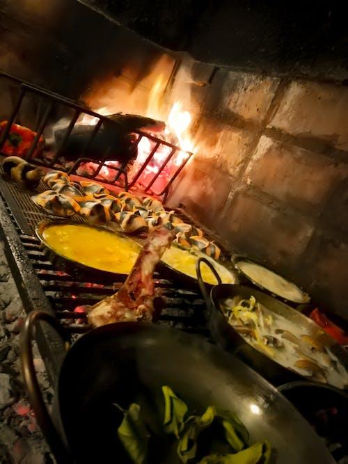 Gratis lagerfoto af blanding, brand, mad, pasta