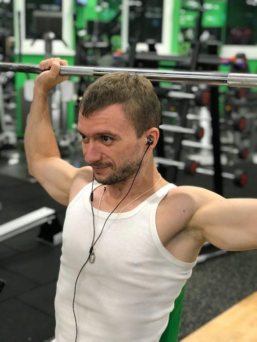 Free stock photo of andrew ua, bodybuilding, gym, sport star