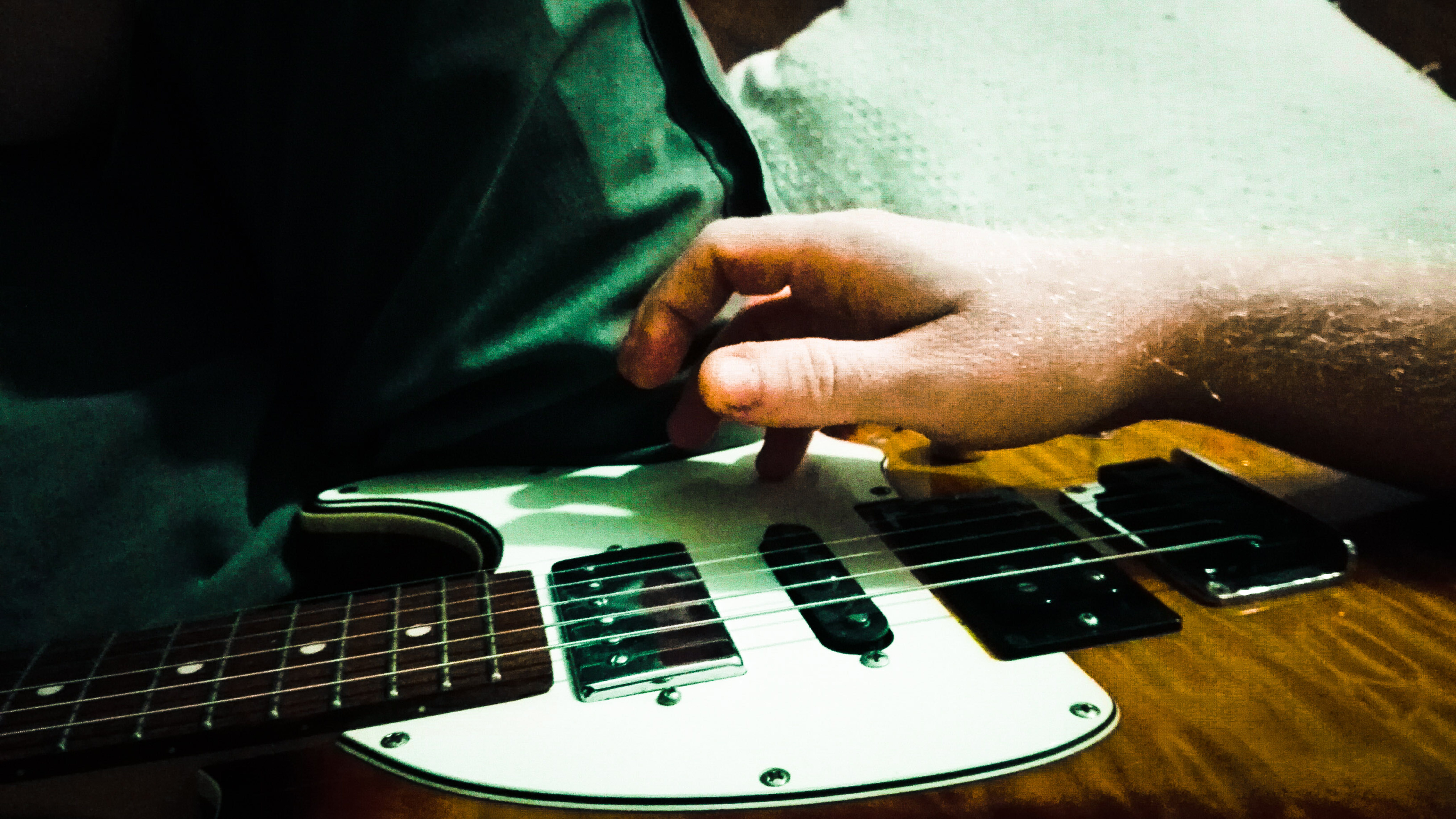 Free stock photo of guitar, learning, music, playing