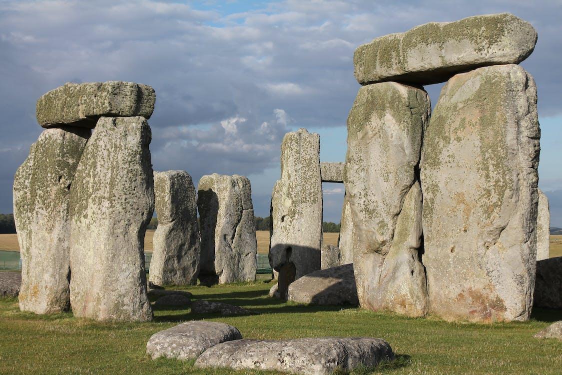 Stonehenge Under Dark Clouds
