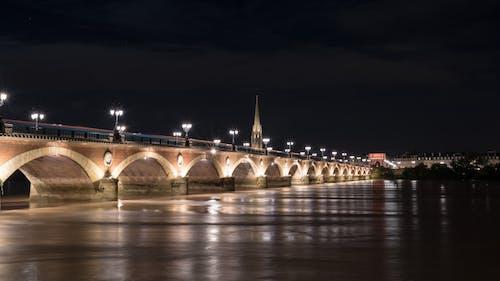 Foto d'estoc gratuïta de bordeaux, cel nocturn, ciutat de nit, fotografia nocturna