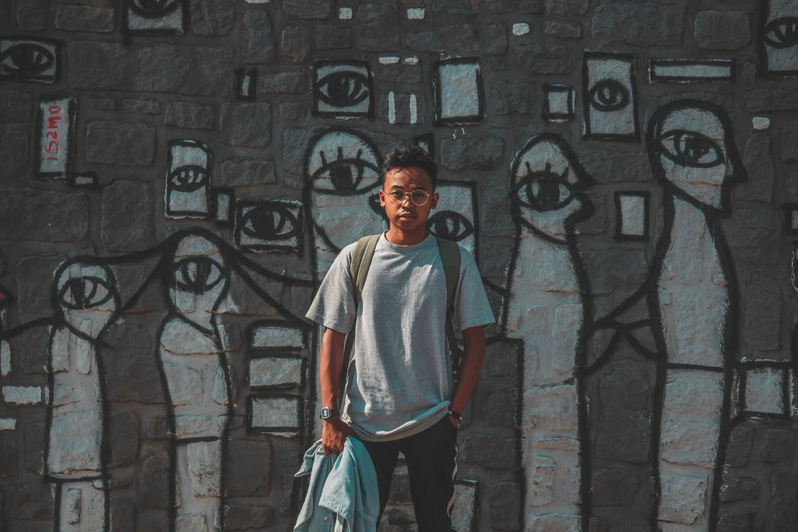 art de carrer, colors, desgast